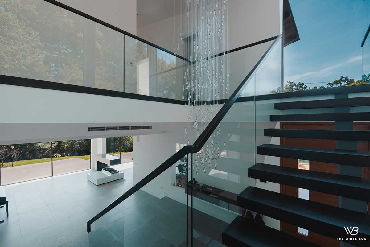 Architectural Glass Balustrades in Oxford