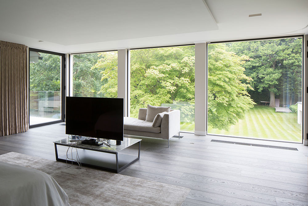 types of sliding doors for architects london