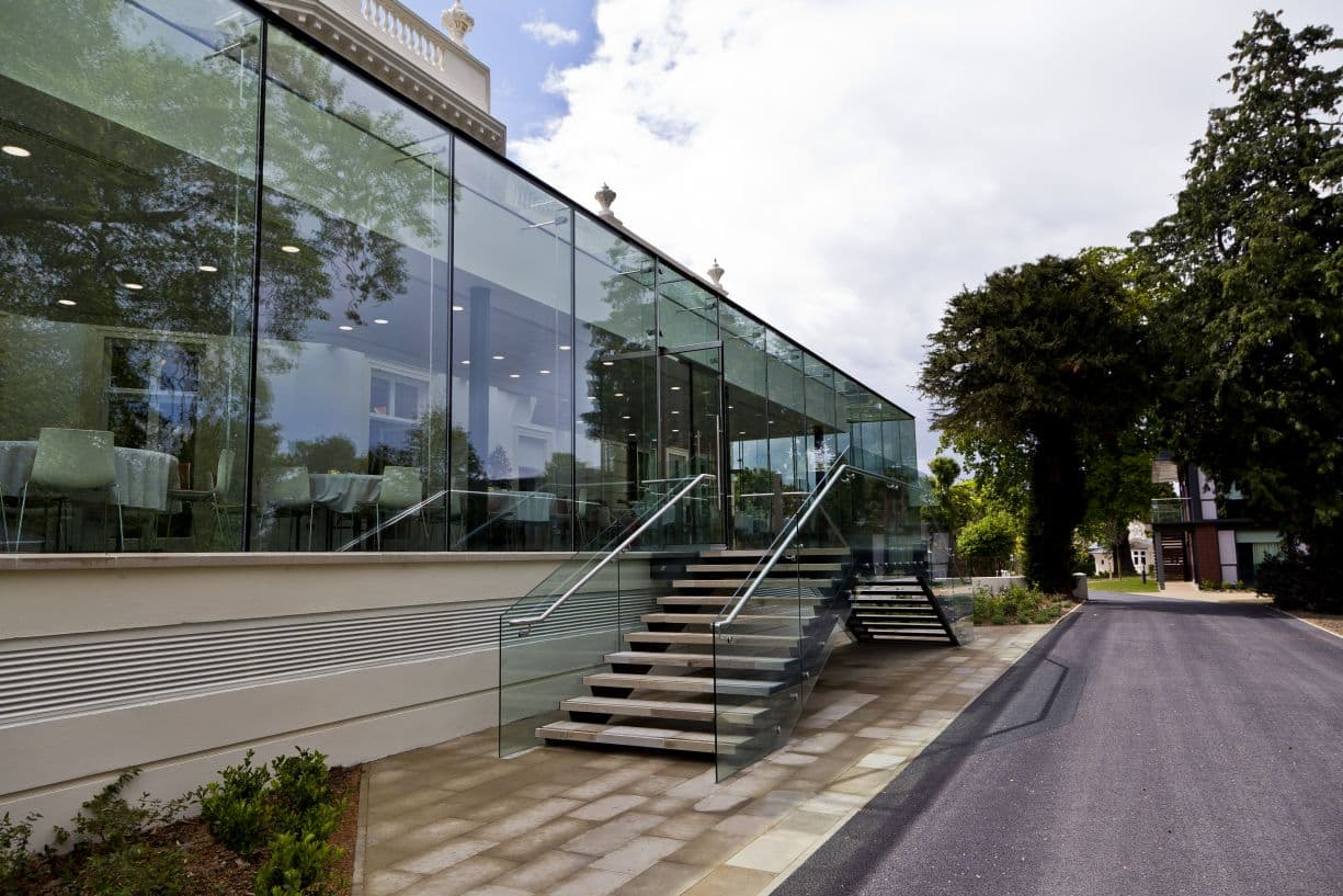 glass box extension in london
