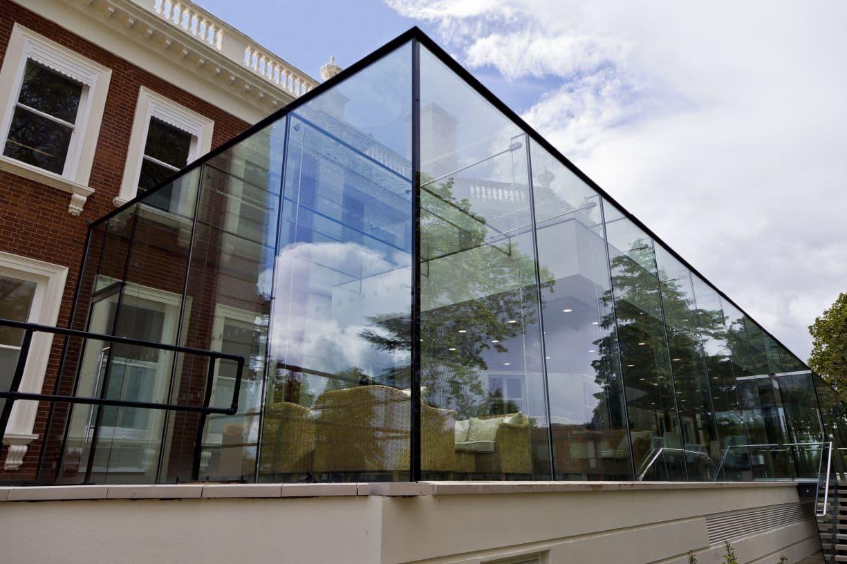 london glazed extension project