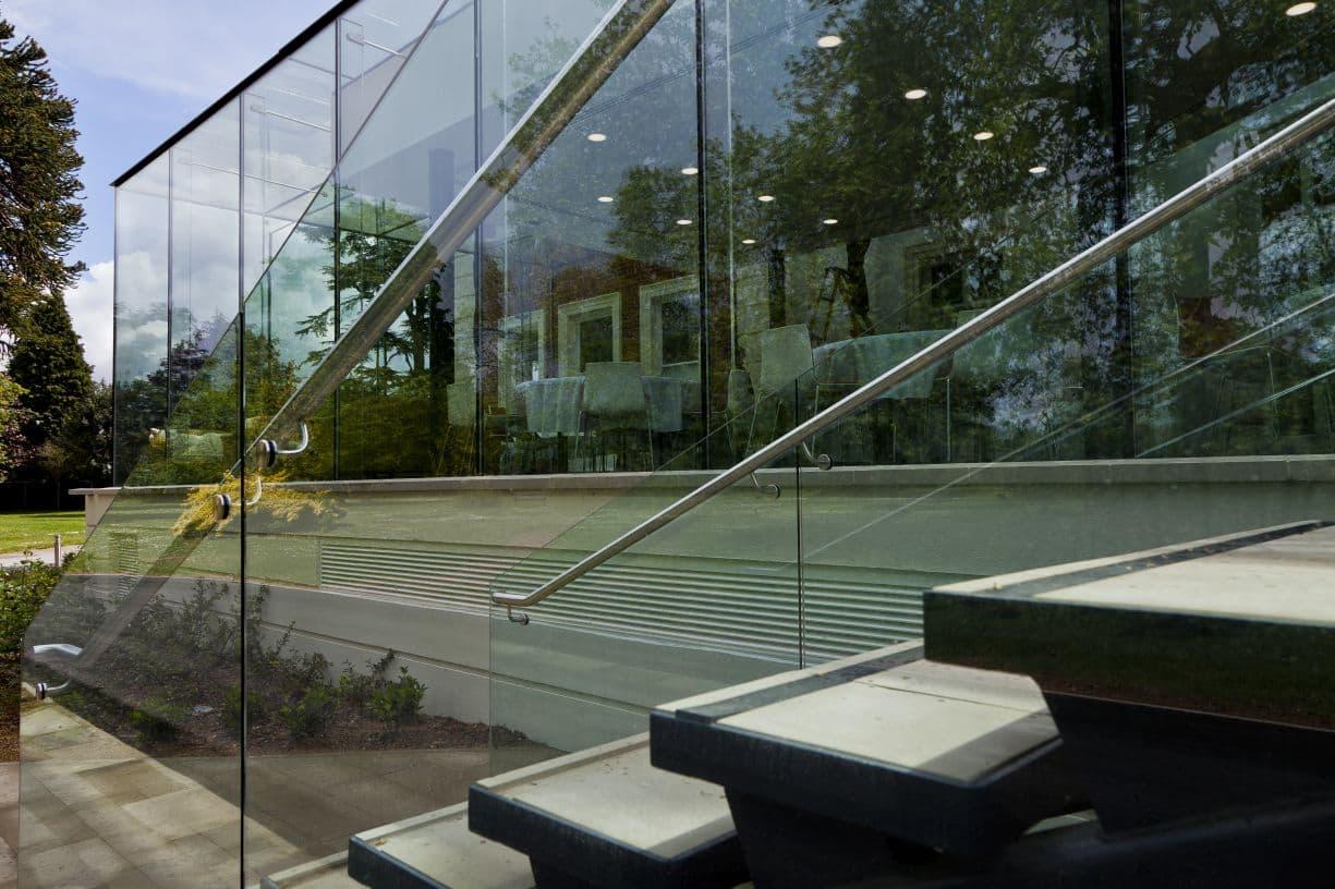 london glass box installation