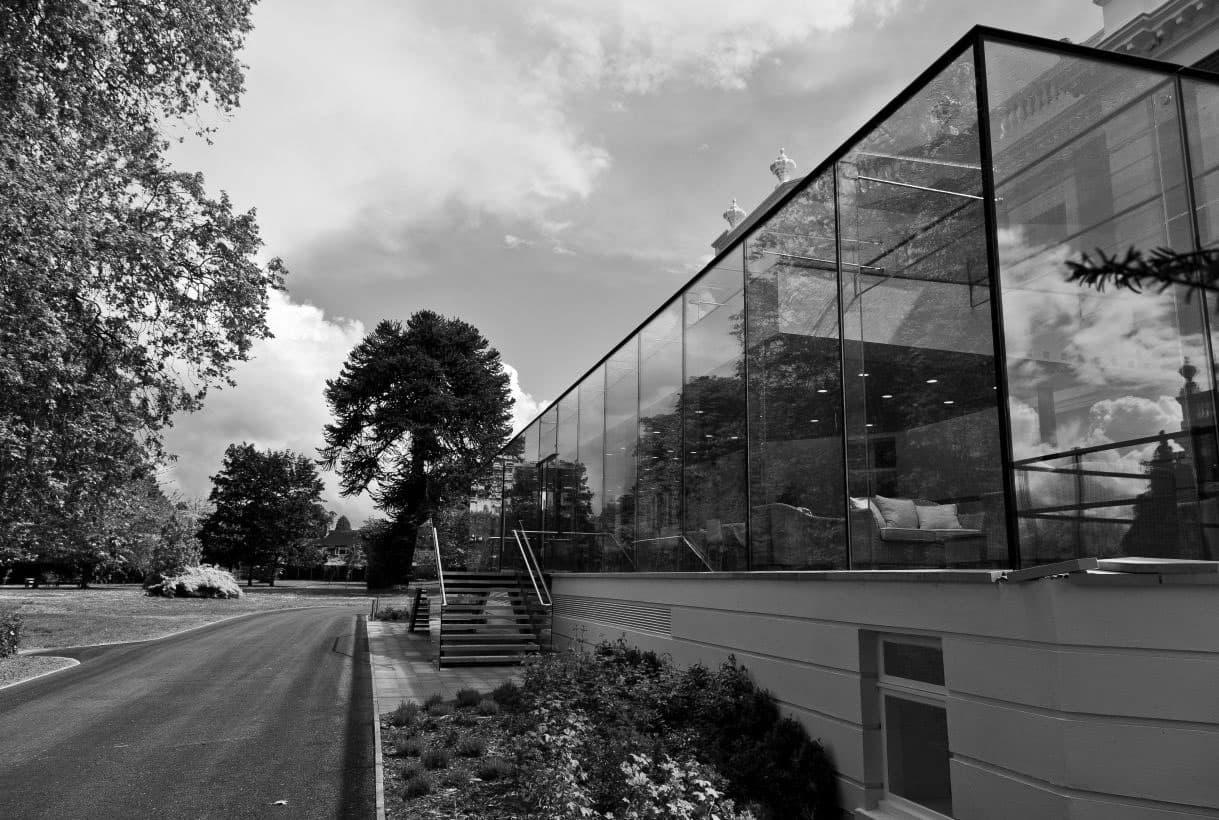 glass box installation in london