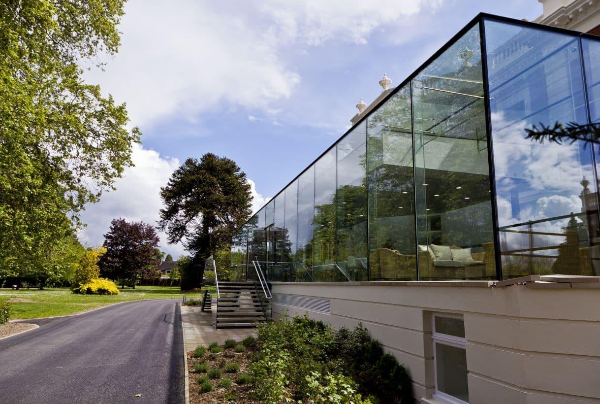 glass walls project london
