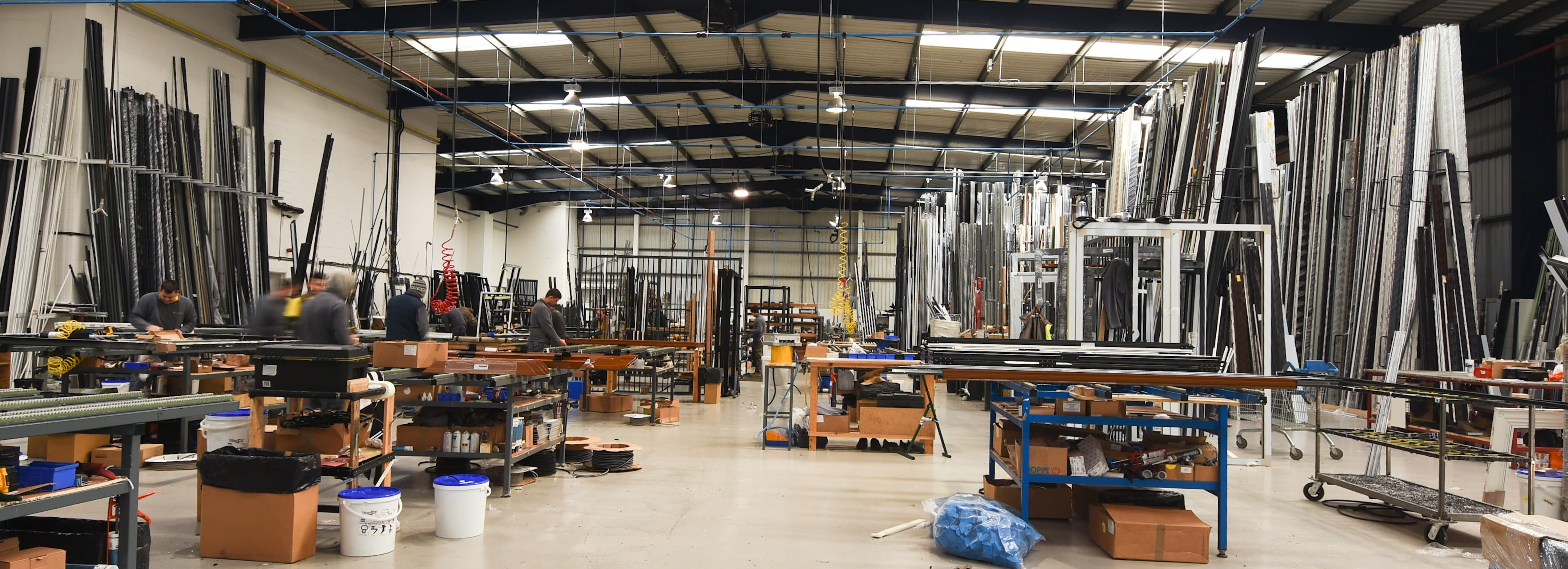 Our Glass Processing Production Facilities