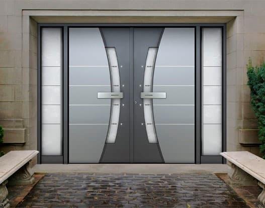 biometric door lock residential UK