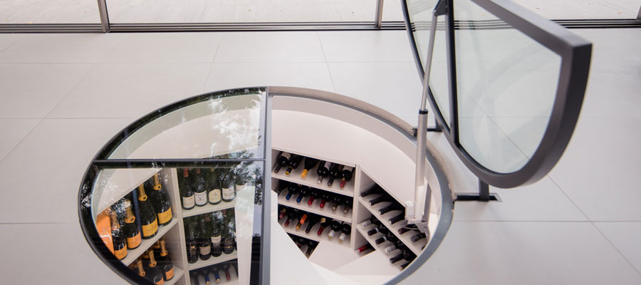 Wine Cellar Underfloor Spiral UK