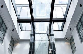 bespoke glass roof lights in london