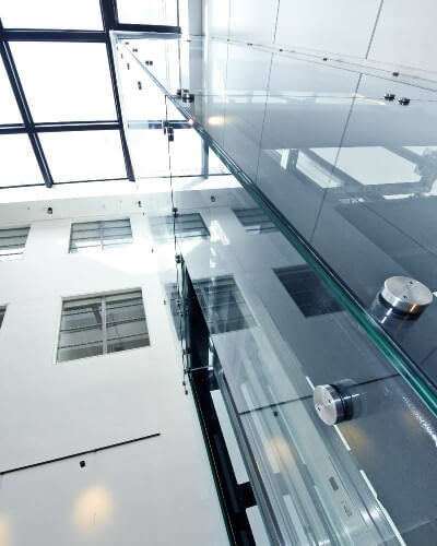 glass walls project in london