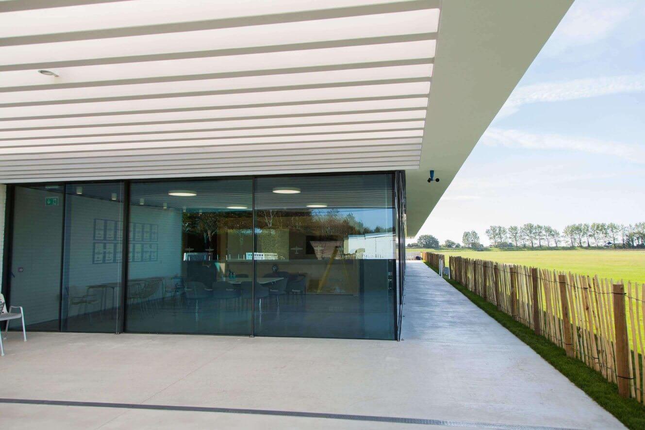 aluminium sliding doors project UK