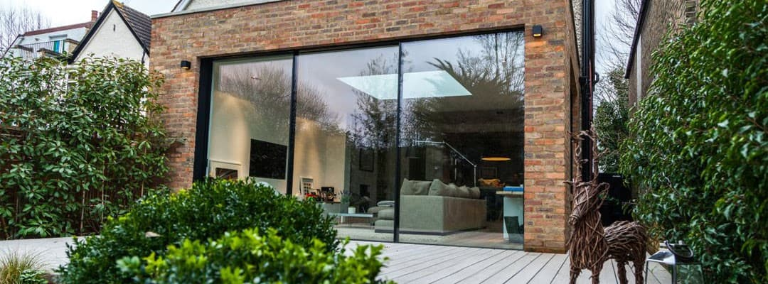 aluminium sliding doors in london
