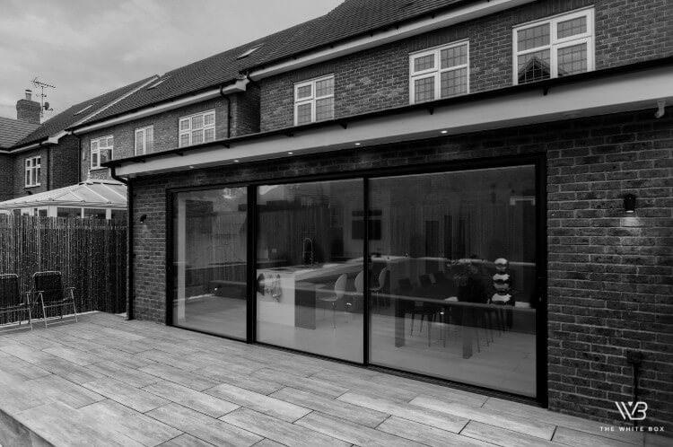 architectural glass sliding doors uk