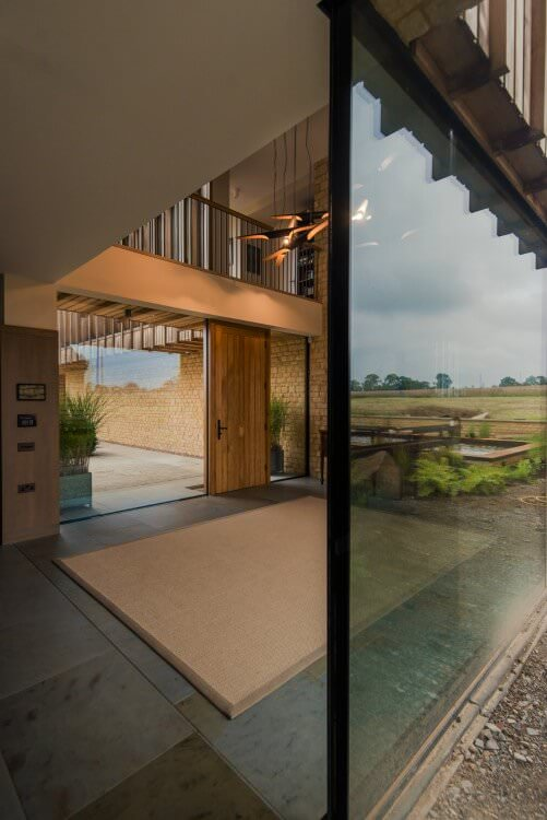 architectural glazing Hannington farm