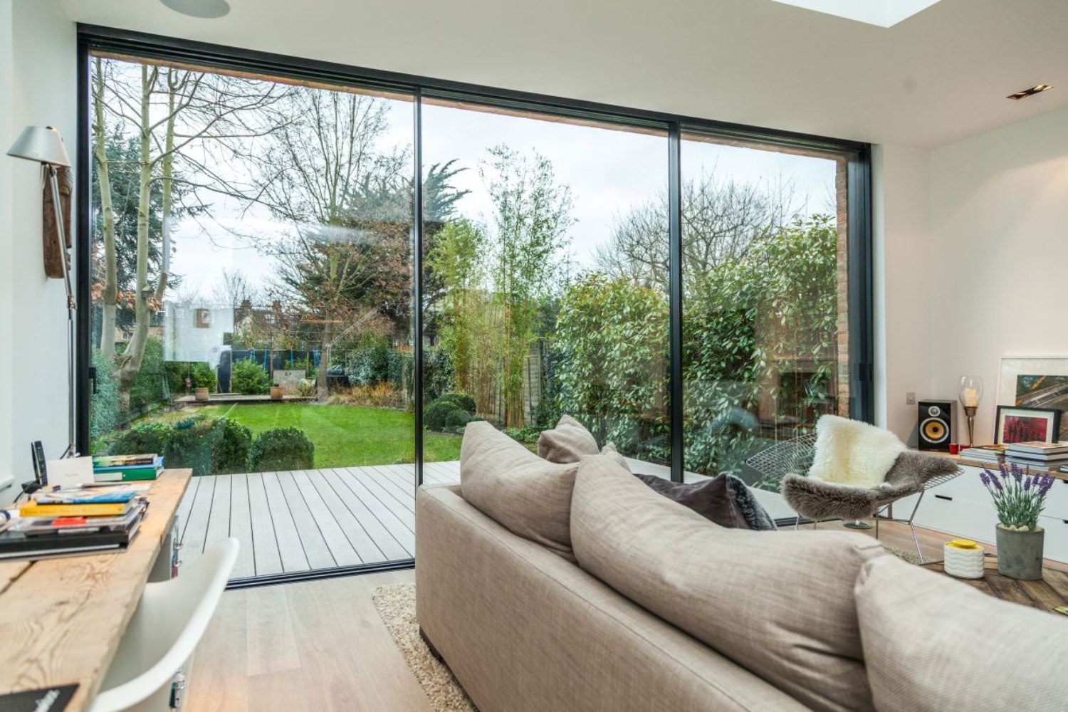 Richmond london aluminium sliding doors