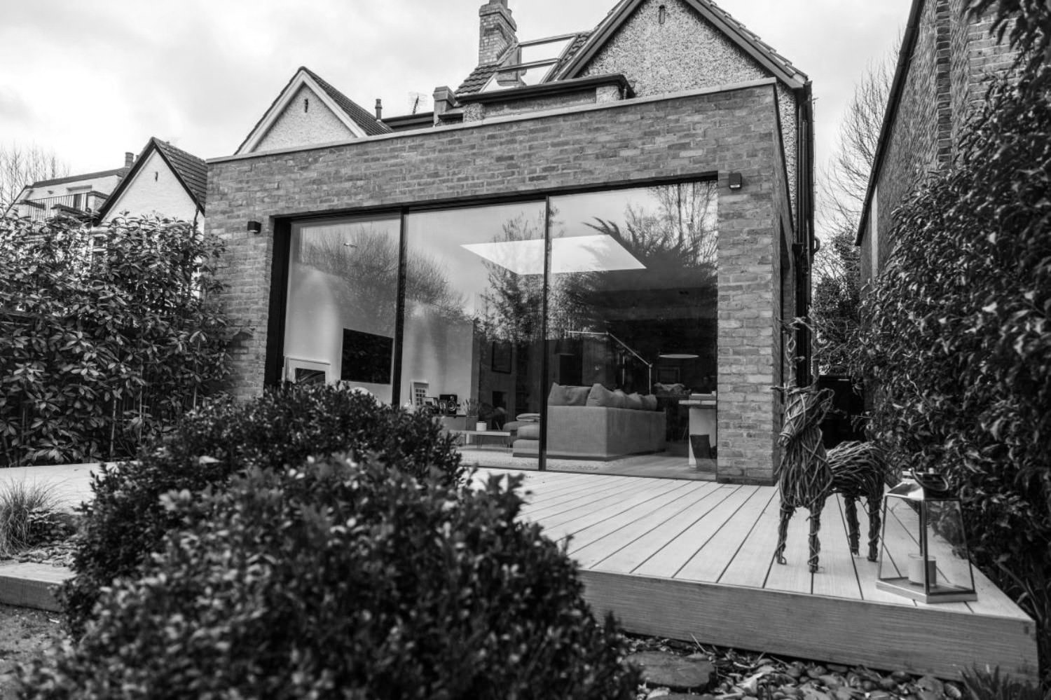 glass extension doors Richmond london