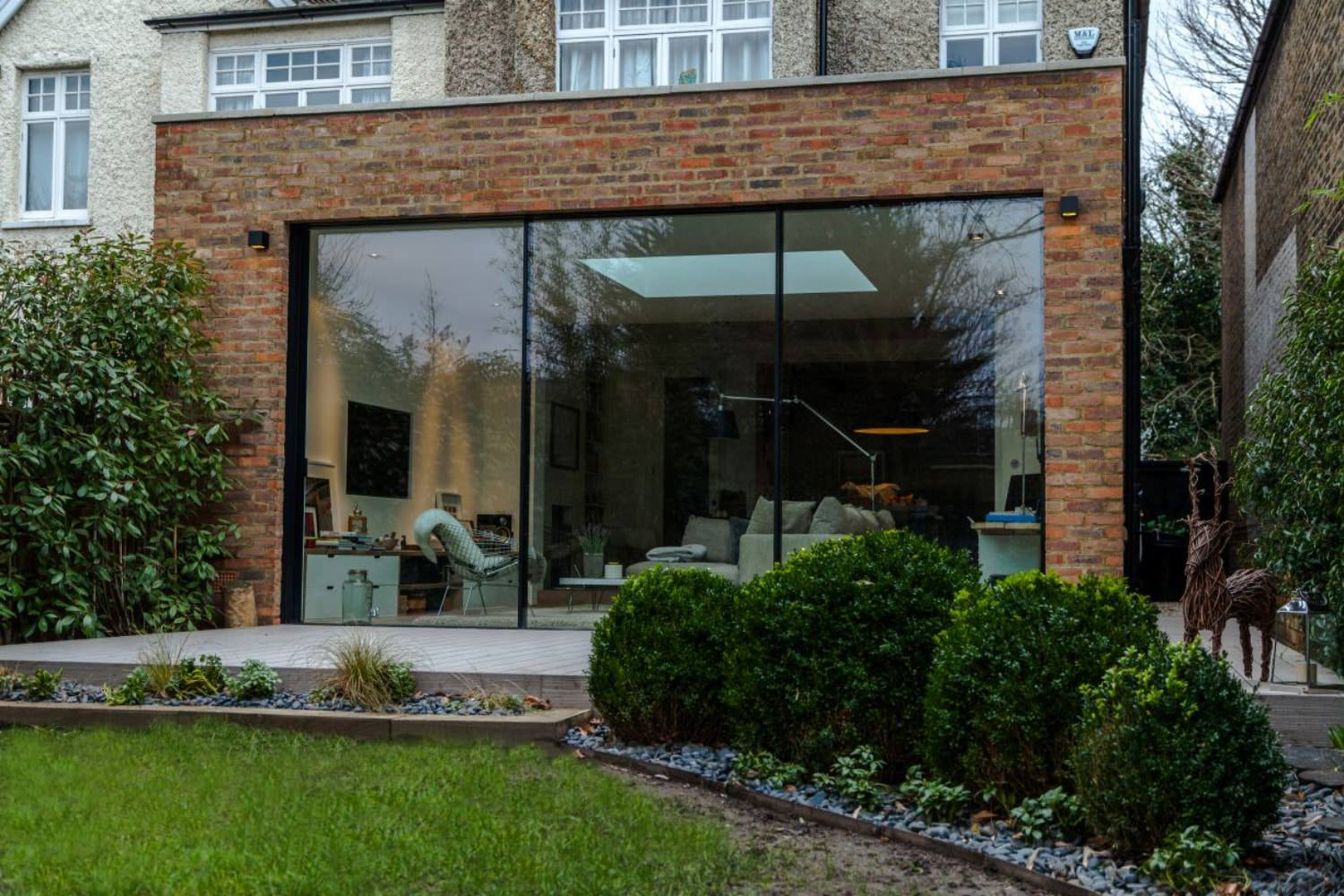 Richmond london structural glazing