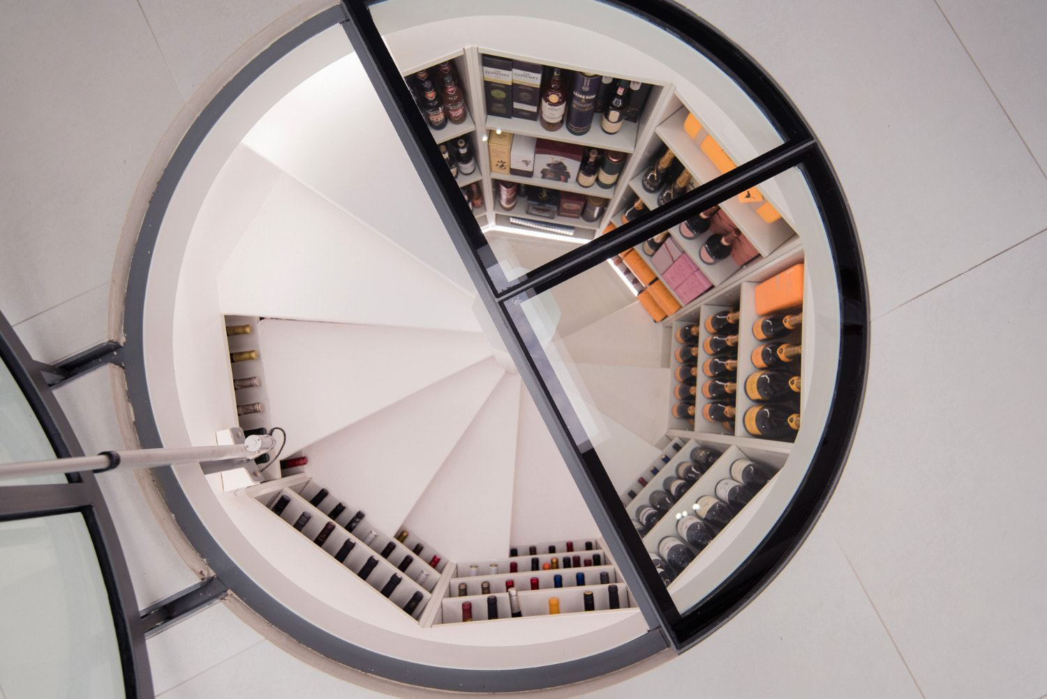 Spiral Glass Wine Cellars