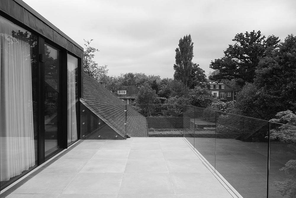 Glass Balustrades installed in Sheldon Avenue, London
