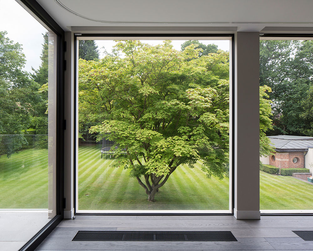 Panoramic Glass Window Wall London