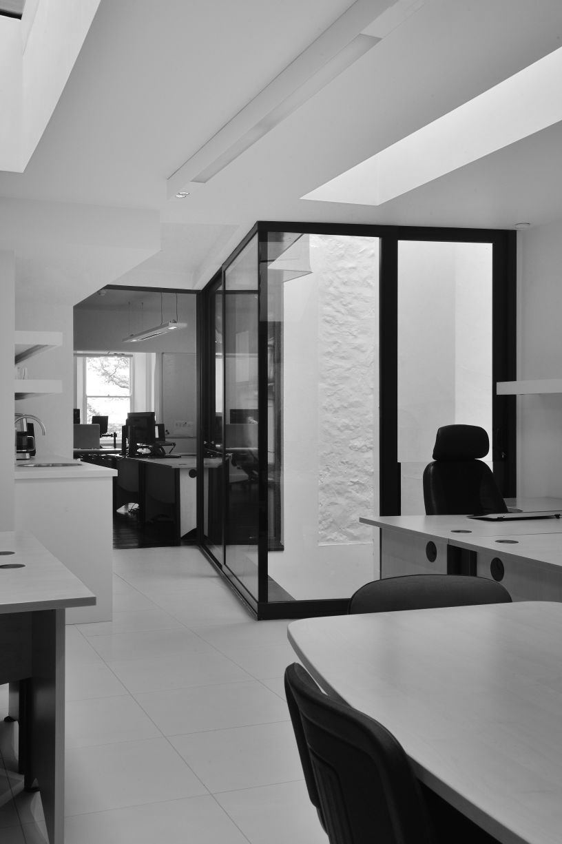 Heated Glazing installation New Century House