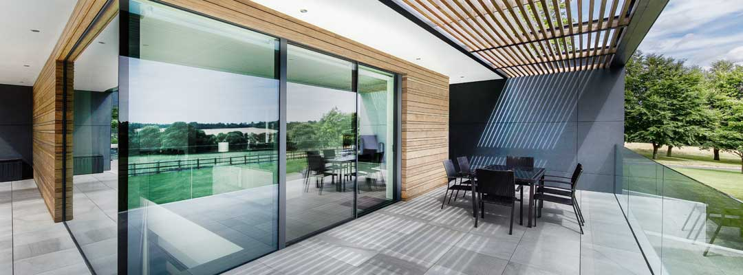 modern glazed extension london
