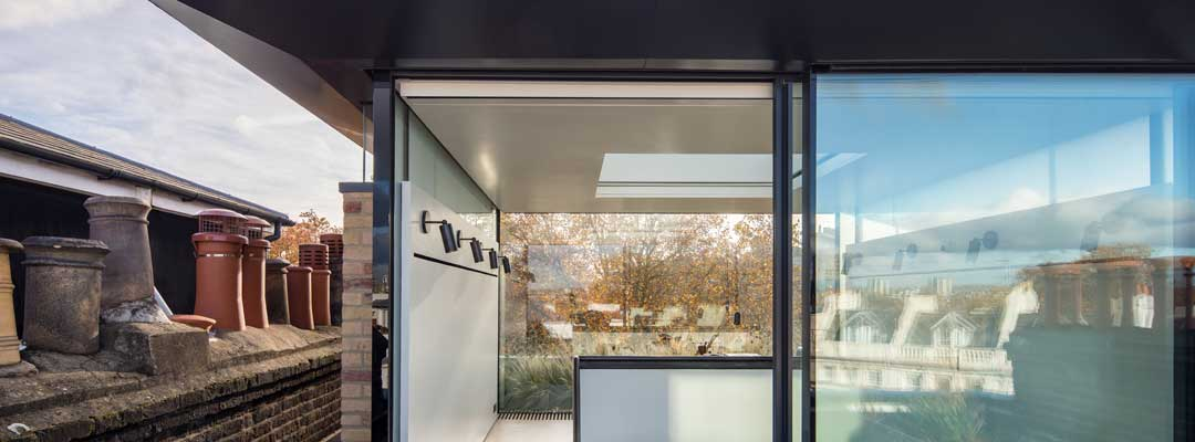 glass box extension london