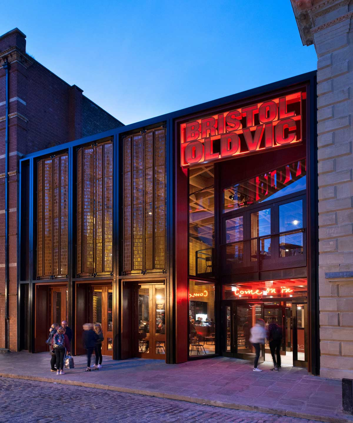 Structural Glazing Bristol Old Vic