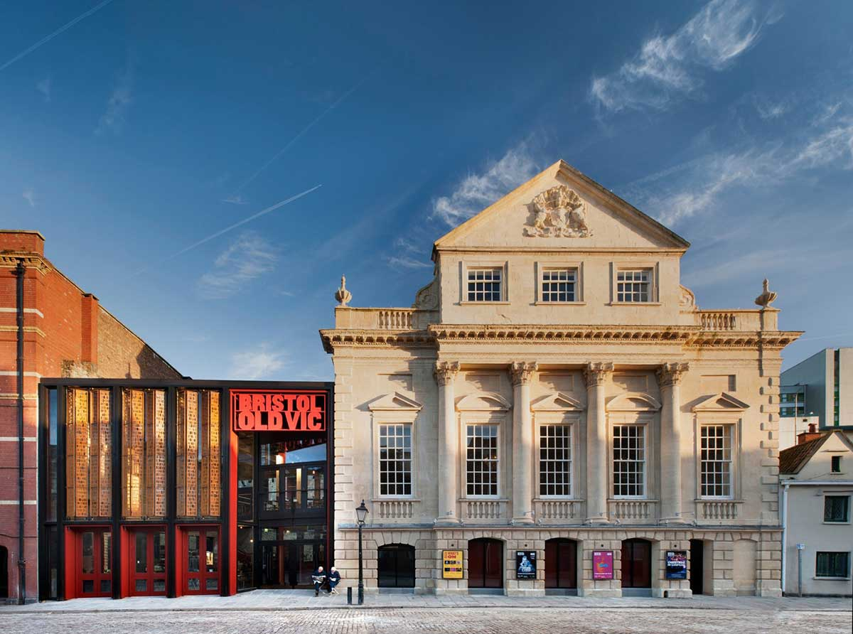 Bristol Old Vic Structural Glazing