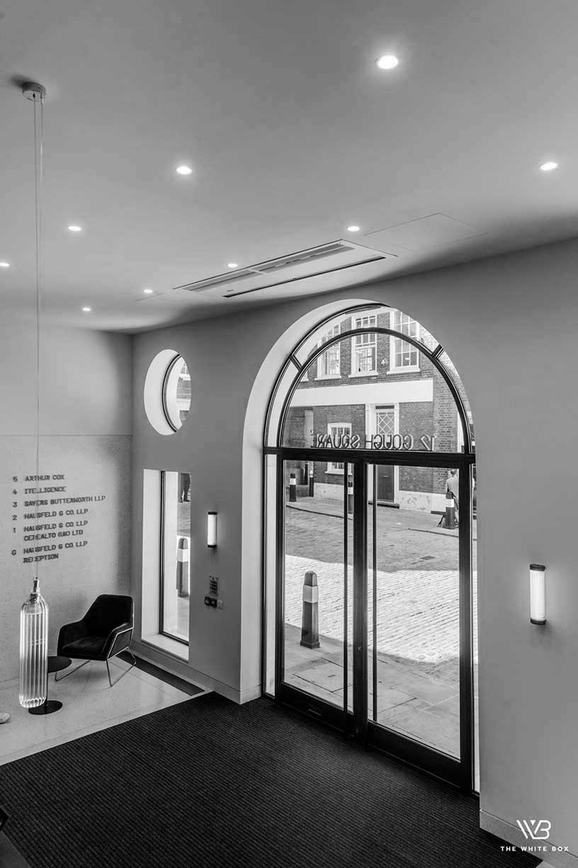 Slim frame glazing London