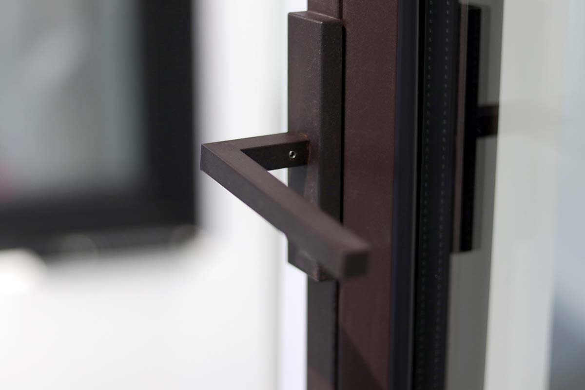 Corten Steel Windows