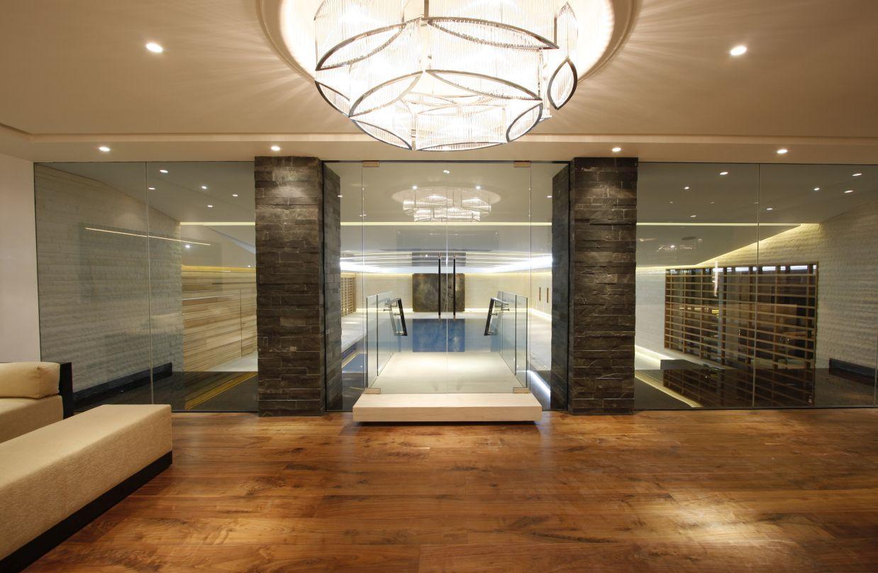 framless glazed doors installed in london